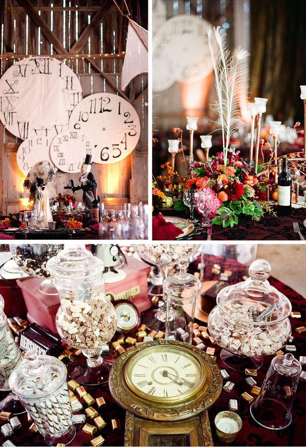 Wedding Philippines - Steampunk Themed Wedding Motif Inspiration