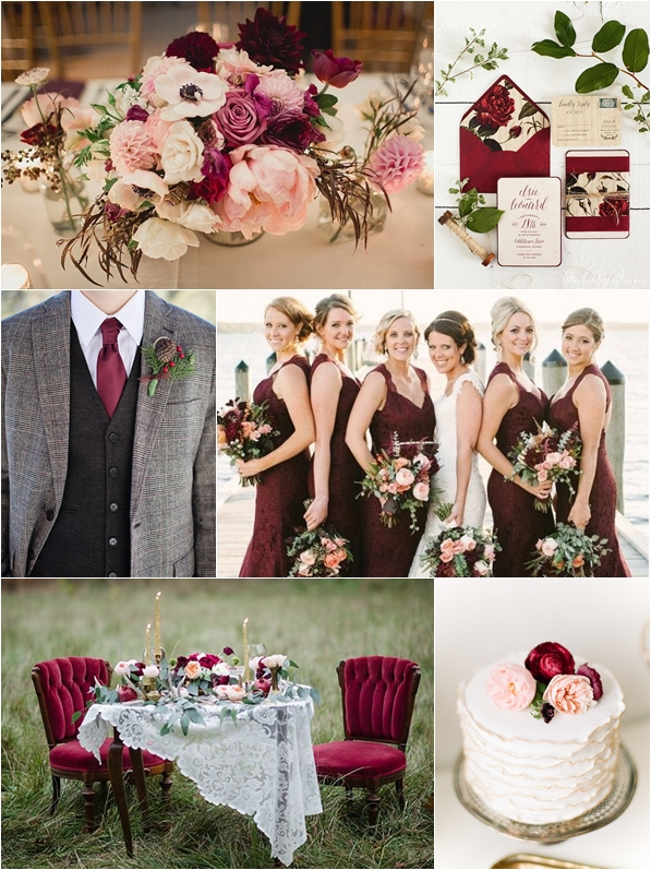 Wedding Philippines - Weddings by Color - Marsala