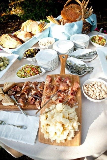 Wedding Philippines - 15 Charming Pasta Bar Ideas for Your wedding Food Buffet Ideas (5)