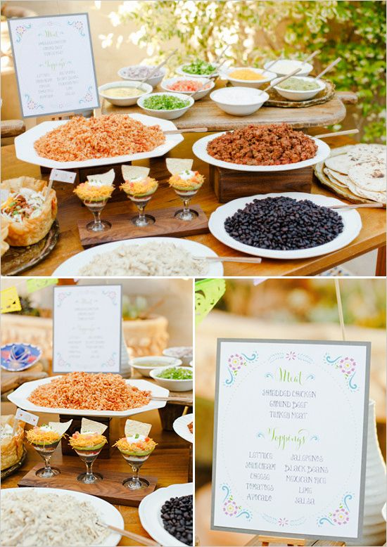 Wedding Philippines - 18 Entertaining Taco Bar Buffet Food Ideas for Your Wedding (14)