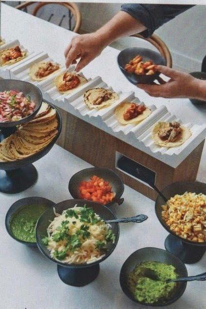 Wedding Philippines - 18 Entertaining Taco Bar Buffet Food Ideas for Your Wedding (8)