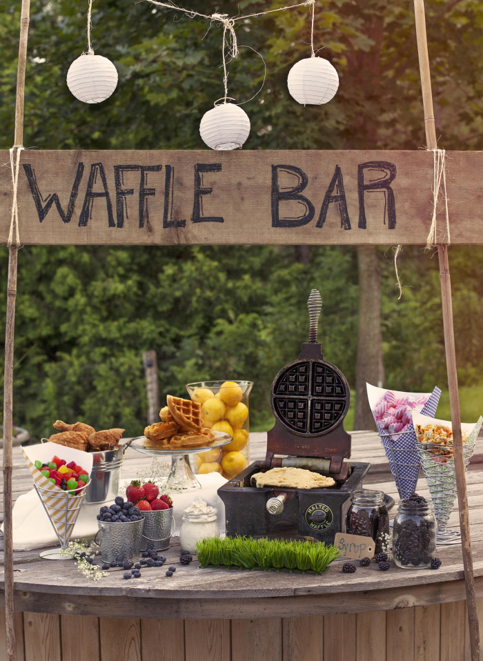 Wedding Philippines - 19 Cute Ways to Display Pancakes and Waffles at Your Wedding Buffet Bar  Food Ideas (1)
