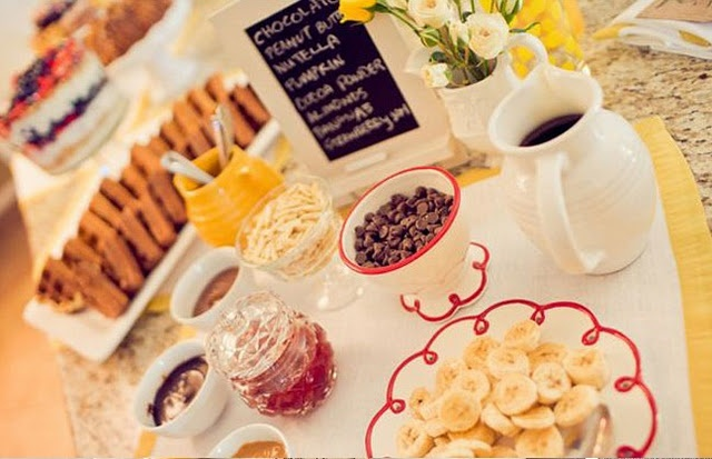 Wedding Philippines - 19 Cute Ways to Display Pancakes and Waffles at Your Wedding Buffet Bar  Food Ideas (14)
