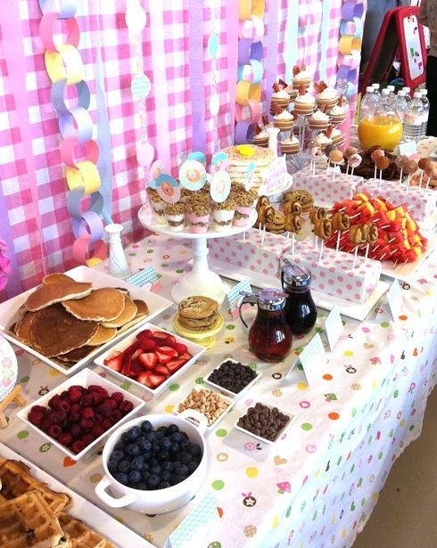 Wedding Philippines - 19 Cute Ways to Display Pancakes and Waffles at Your Wedding Buffet Bar  Food Ideas (16)
