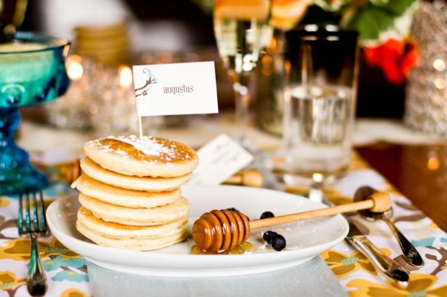 Wedding Philippines - 19 Cute Ways to Display Pancakes and Waffles at Your Wedding Buffet Bar  Food Ideas (18)