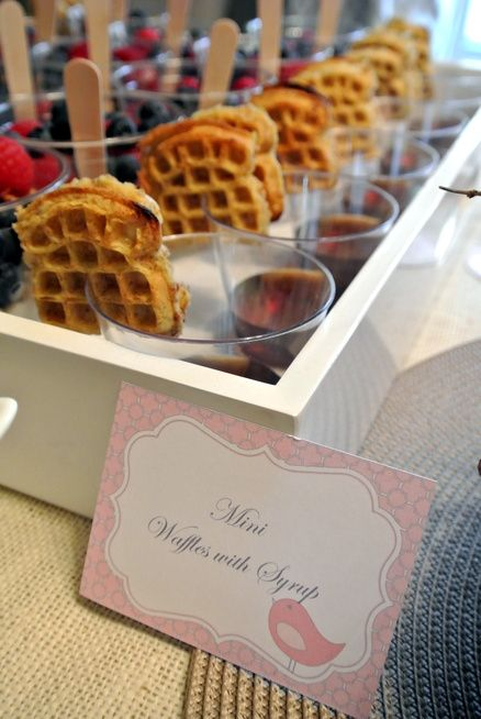 Wedding Philippines - 19 Cute Ways to Display Pancakes and Waffles at Your Wedding Buffet Bar  Food Ideas (19)