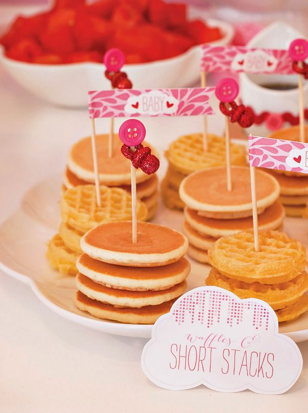 Wedding Philippines - 19 Cute Ways to Display Pancakes and Waffles at Your Wedding Buffet Bar  Food Ideas (7)