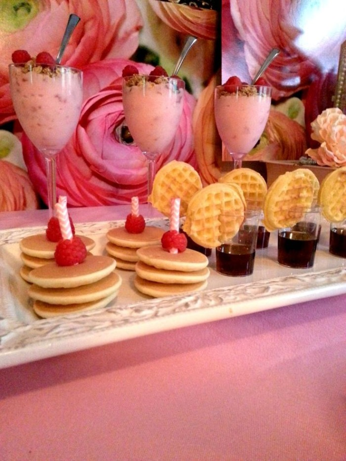 Wedding Philippines - 19 Cute Ways to Display Pancakes and Waffles at Your Wedding Buffet Bar  Food Ideas (9)