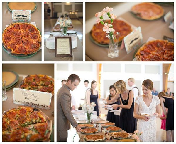 Wedding Philippines - 21 Fun Pizza Food Bar Buffet Ideas for Your Wedding (12)