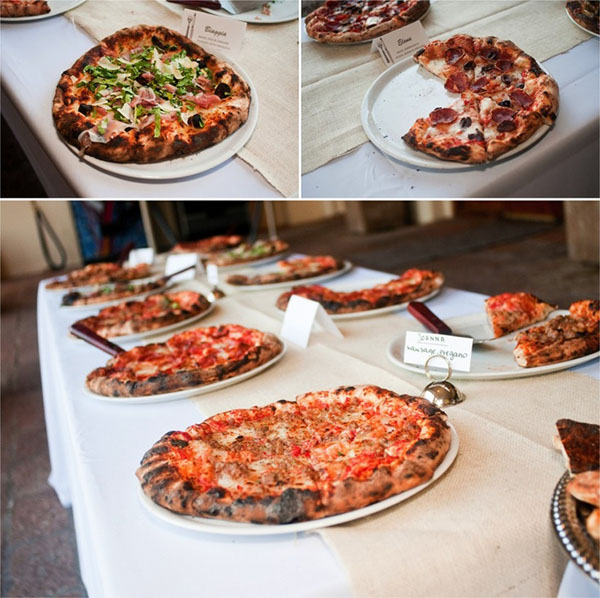 Wedding Philippines - 21 Fun Pizza Food Bar Buffet Ideas for Your Wedding (13)