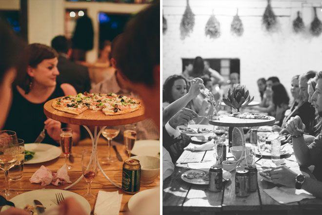 Wedding Philippines - 21 Fun Pizza Food Bar Buffet Ideas for Your Wedding (15)