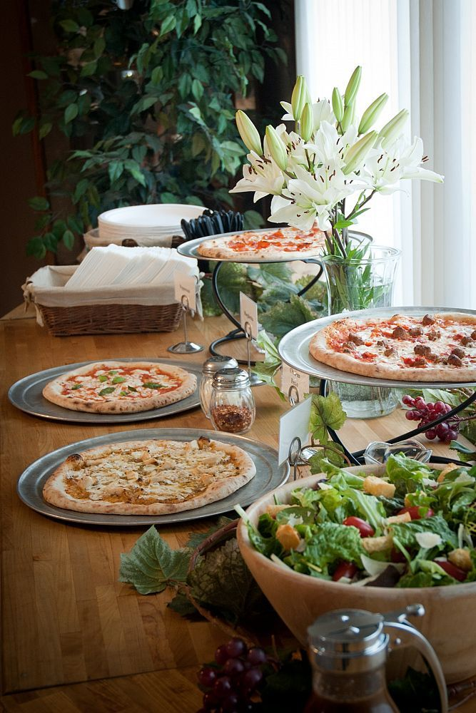 Wedding Philippines - 21 Fun Pizza Food Bar Buffet Ideas for Your Wedding (16)