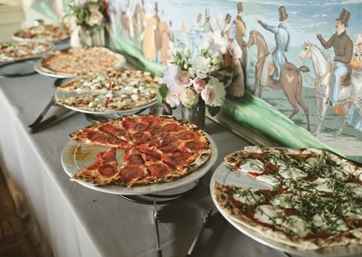 Wedding Philippines - 21 Fun Pizza Food Bar Buffet Ideas for Your Wedding (5)