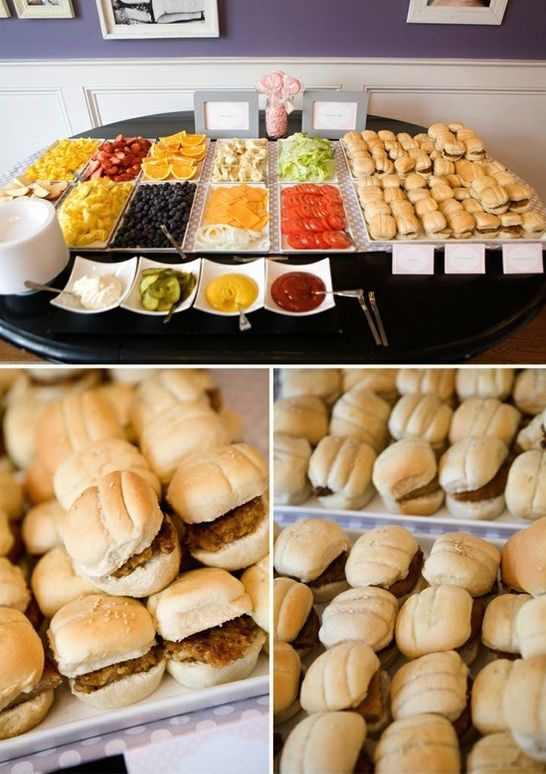 Wedding Philippines - 21 Gourmet Burger Bar Buffet Ideas For Your Wedding (4)