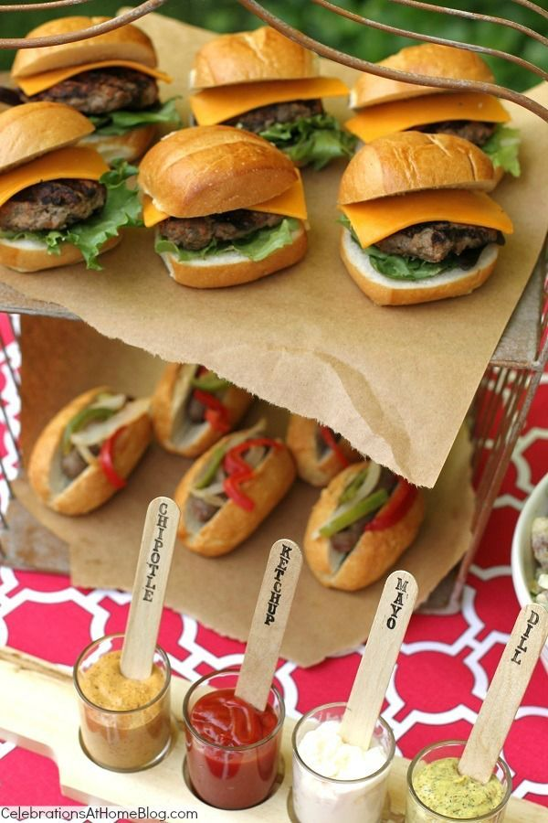 Wedding Philippines - 21 Gourmet Burger Bar Buffet Ideas For Your Wedding (5)