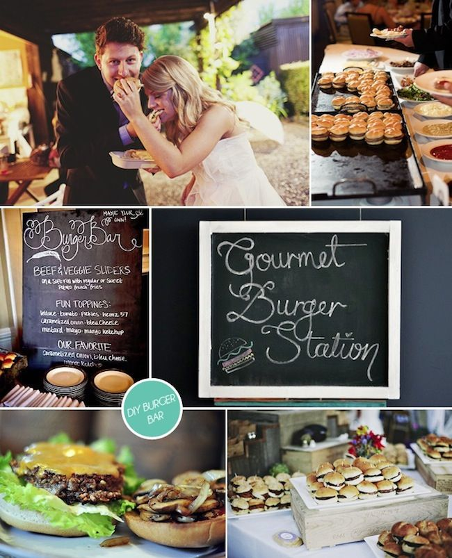 Wedding Philippines - 21 Gourmet Burger Bar Buffet Ideas For Your Wedding (9)