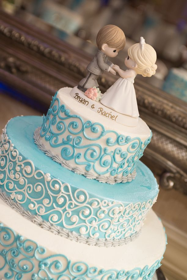 Wedding Philippines - 25 Elegant Tiffany Blue Wedding Cake Ideas (8)