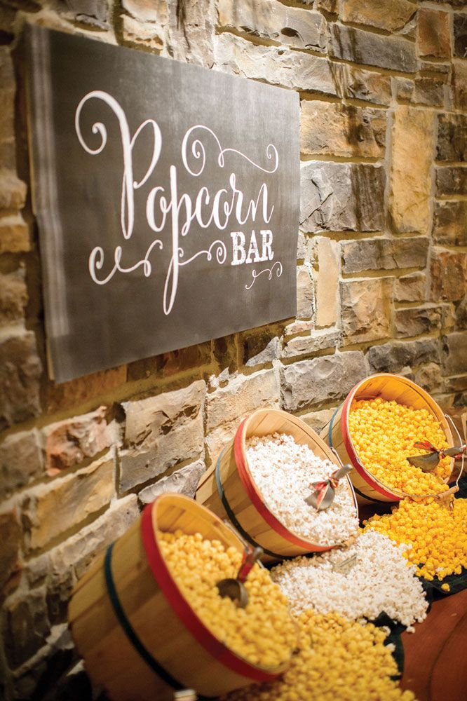 Wedding Philippines - 28 Exciting Popcorn Bar Buffet Food Ideas For Your Wedding (1)