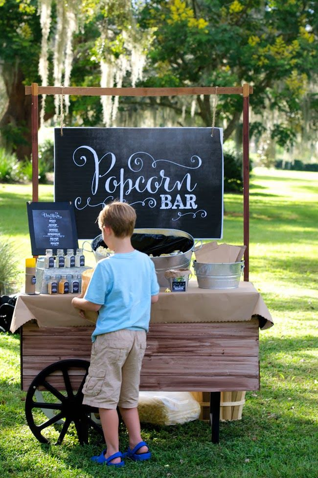 Wedding Philippines - 28 Exciting Popcorn Bar Buffet Food Ideas For Your Wedding (13)