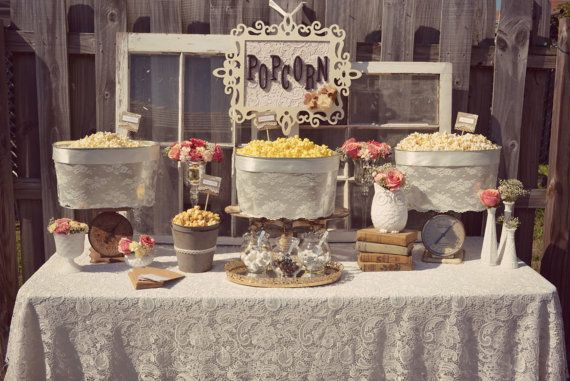Wedding Philippines - 28 Exciting Popcorn Bar Buffet Food Ideas For Your Wedding (17)