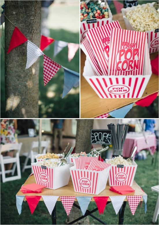 Wedding Philippines - 28 Exciting Popcorn Bar Buffet Food Ideas For Your Wedding (19)