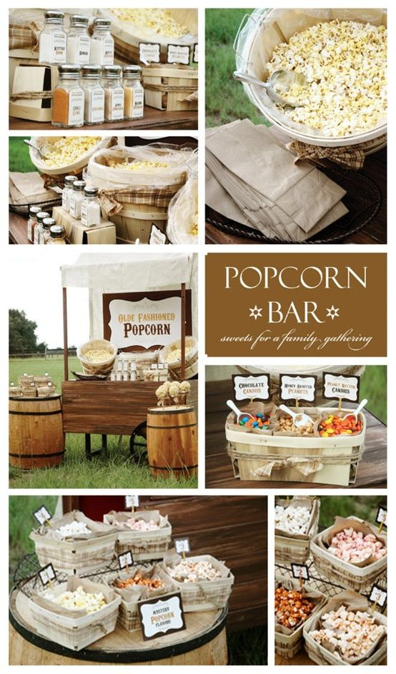 Wedding Philippines - 28 Exciting Popcorn Bar Buffet Food Ideas For Your Wedding (21)