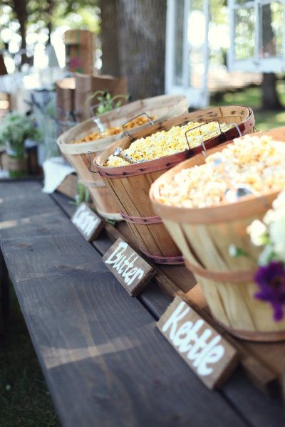 Wedding Philippines - 28 Exciting Popcorn Bar Buffet Food Ideas For Your Wedding (23)