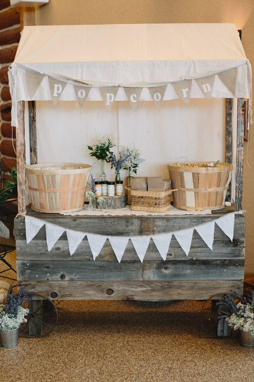 Wedding Philippines - 28 Exciting Popcorn Bar Buffet Food Ideas For Your Wedding (5)