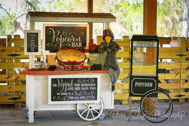 Wedding Philippines - 28 Exciting Popcorn Bar Buffet Food Ideas For Your Wedding (6)
