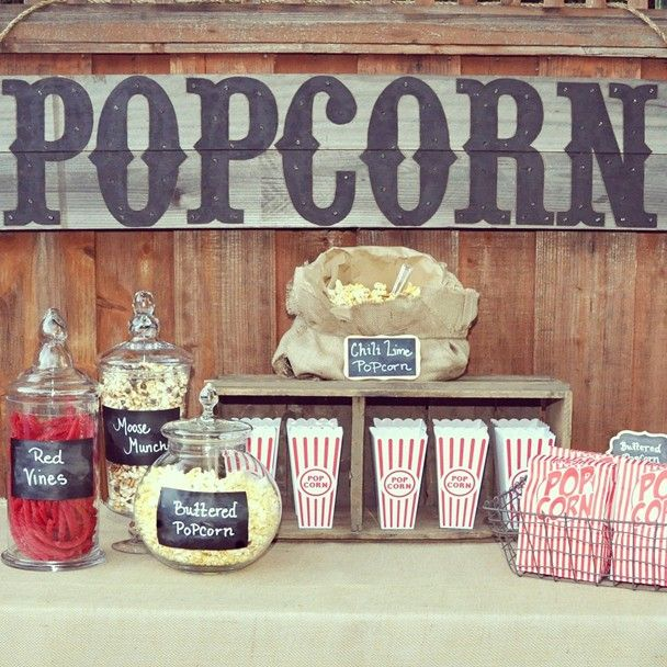 Wedding Philippines - 28 Exciting Popcorn Bar Buffet Food Ideas For Your Wedding (7)