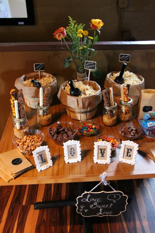 28 Exciting Popcorn Bar Ideas For Your Wedding Wedding