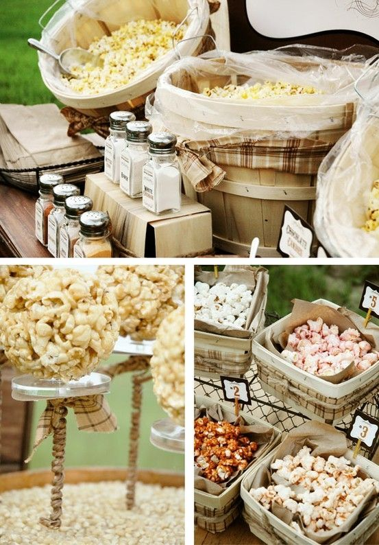 Wedding Philippines - 28 Exciting Popcorn Bar Buffet Food Ideas For Your Wedding (9)