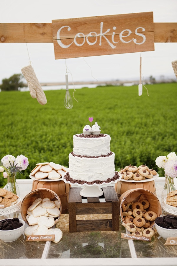 Wedding Philippines - 30 Cute Cookie Bar Buffet Food Ideas For Your Wedding (1)
