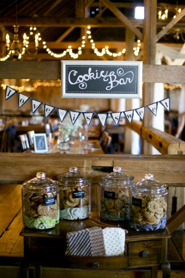 Wedding Philippines - 30 Cute Cookie Bar Buffet Food Ideas For Your Wedding (11)