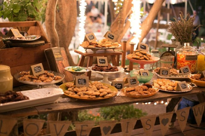 Wedding Philippines - 30 Cute Cookie Bar Buffet Food Ideas For Your Wedding (17)