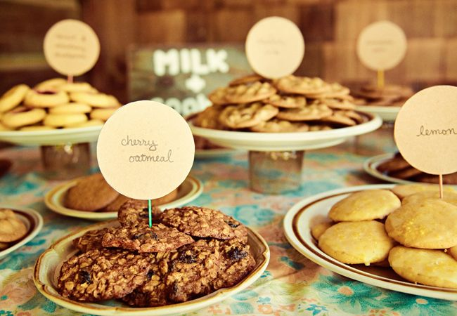 Wedding Philippines - 30 Cute Cookie Bar Buffet Food Ideas For Your Wedding (24)