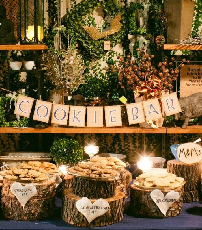 Wedding Philippines - 30 Cute Cookie Bar Buffet Food Ideas For Your Wedding (3)