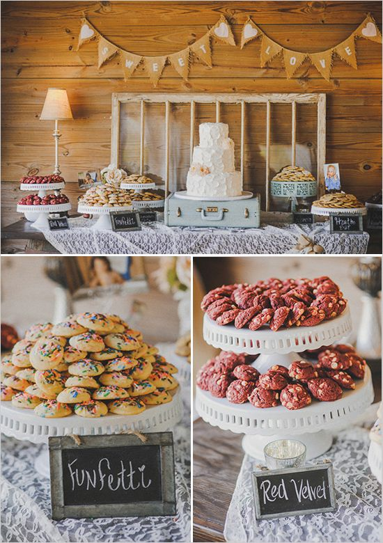 Wedding Philippines - 30 Cute Cookie Bar Buffet Food Ideas For Your Wedding (8)