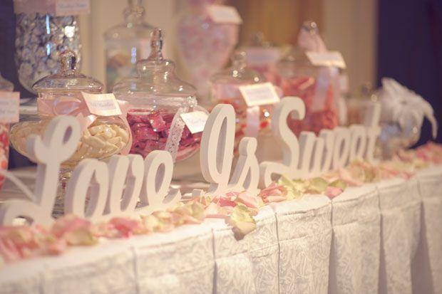 candy bar wedding ideas - Wedding Decor Ideas