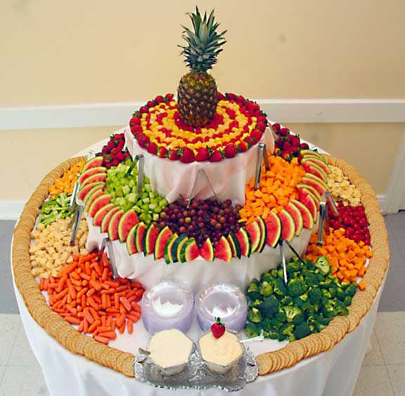 Wedding Reception Food Table Ideas: 37 Surprising Fruit And Veggie Wedding Desserts