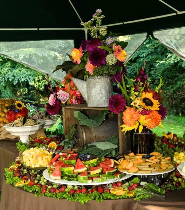37 Surprising Fruit And Veggie Wedding Desserts