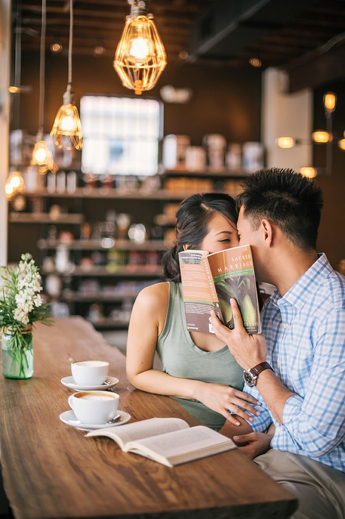 Wedding Philippines - Coffee Shop Cafe Engagement Photo Shoot Session Inspiration (20)