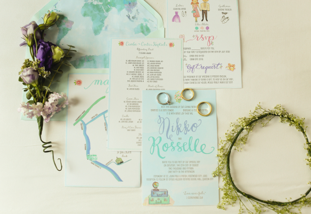 Wedding Philippines - Randolf Evan Photography - Pink Mint Green Rustic Travel DIY Wedding (1)