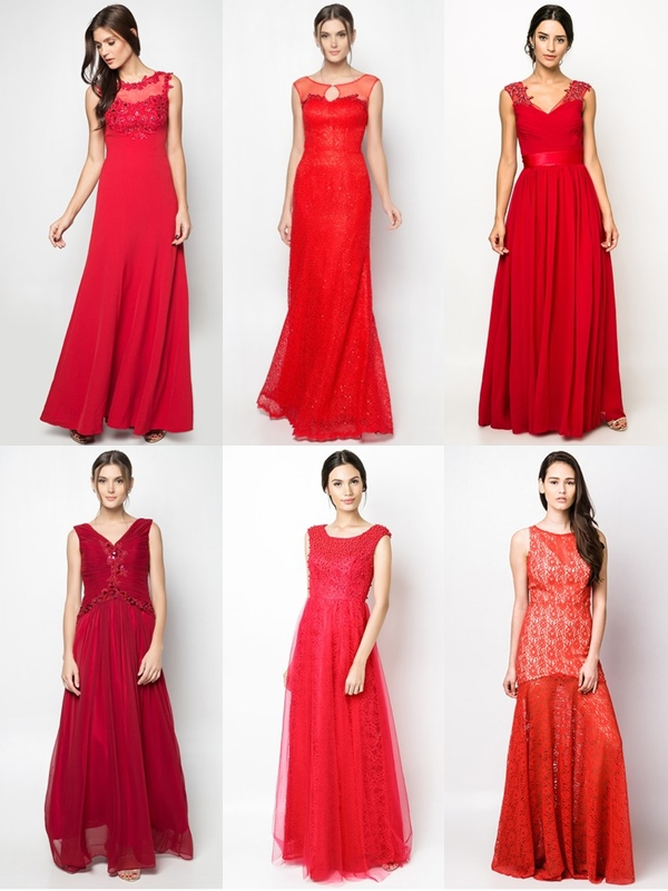 Wedding Philippines - Red Dresses Gowns