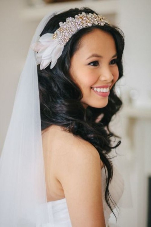 Wedding Philippines - 25 Gorgeous Bridal Headbands (15)