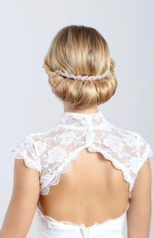 Wedding Philippines - 25 Gorgeous Bridal Headbands (17)
