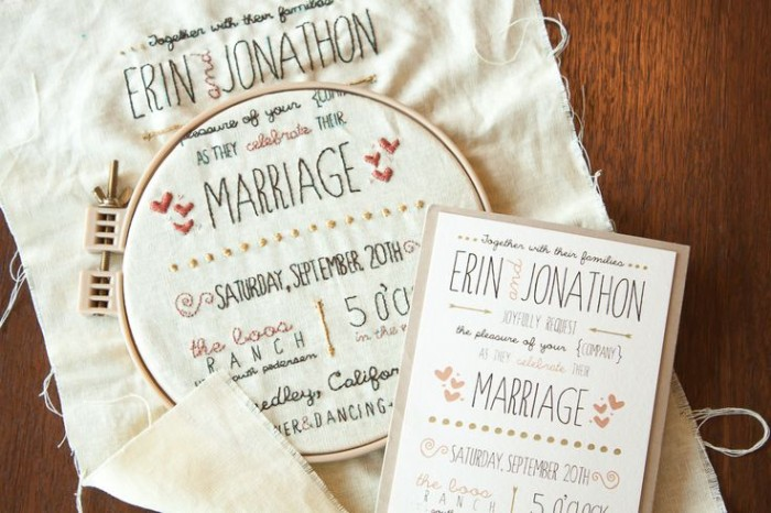 Wedding Philippines - 16 Enchanting Embroidered Wedding Invitations (1)