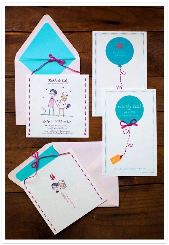 Wedding Philippines - 16 Enchanting Embroidered Wedding Invitations (10)