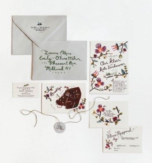 Wedding Philippines - 16 Enchanting Embroidered Wedding Invitations (15)