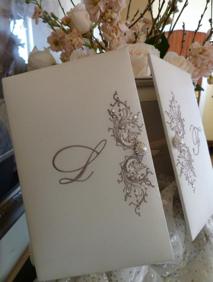 Wedding Philippines - 16 Enchanting Embroidered Wedding Invitations (6)